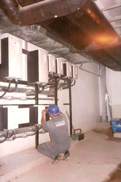 Central de Água Gelada - Bateria de Inversores