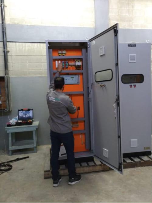 Montagem Quadro Transferência Automatica - QTA
