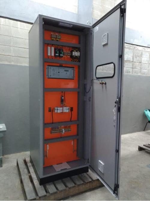 Quadro Transferência Automatica - QTA - Vista Interna